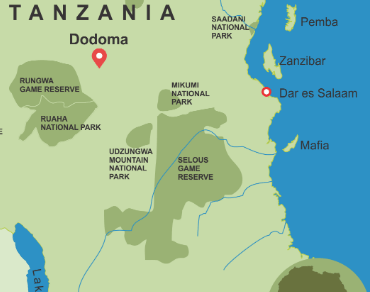 Southern Tanzania Safari Destinations